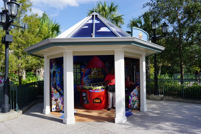 A small Toy Story themed pop-up experience at Disney Springs - IMAGE VIA ORLANDO TOURISM REPORT