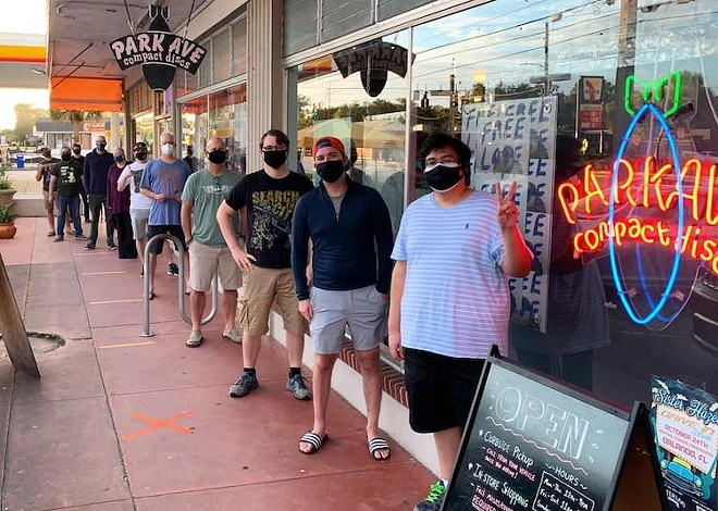 That was Record Store Day 2020 - PHOTO COURTESY PARK AVE. CDS/FACEBOOK