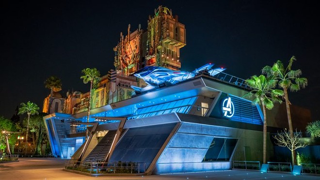 The Avengers Campus at Disney California Adventure - IMAGE VIA DISNEY