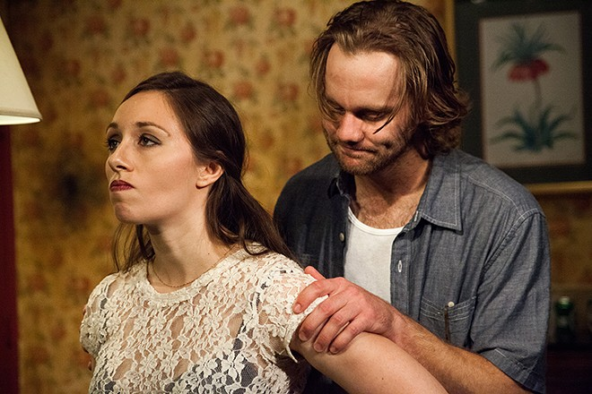 Megan Raitano as Amy and Zack Roundy as Vince - MONICA MULDER