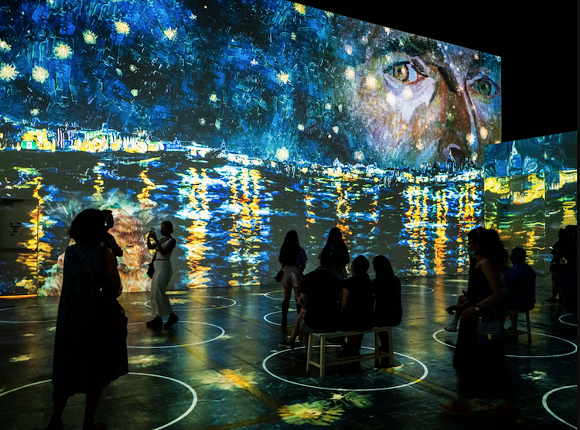 PHOTO COURTESY IMMERSIVE VAN GOGH - ORLANDO