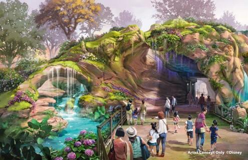 The entrance to Fantasy Springs - IMAGE VIA DISNEY