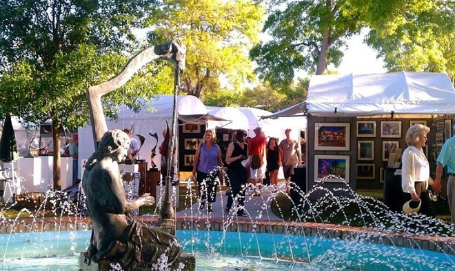 The Winter Park Sidewalk Art Festival is returning for its 62nd year in May. The festival will span over three days, from May 14 to 16. - PHOTO VIA WINTER PARK SIDEWALK ART FESTIVAL/INSTAGRAM
