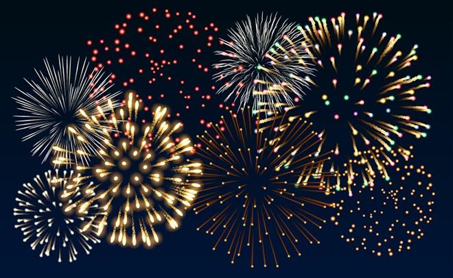 The fireworks at Lake Eola will return in 2021. - IMAGE VIA ADOBE STOCK