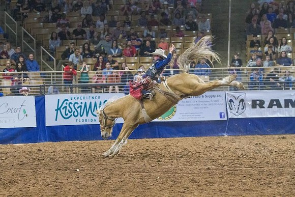 The 146th Silver Spurs Rodeo is going down in Kissimmee on June 5-6. - PHOTO VIA SILVER SPURS RODEO