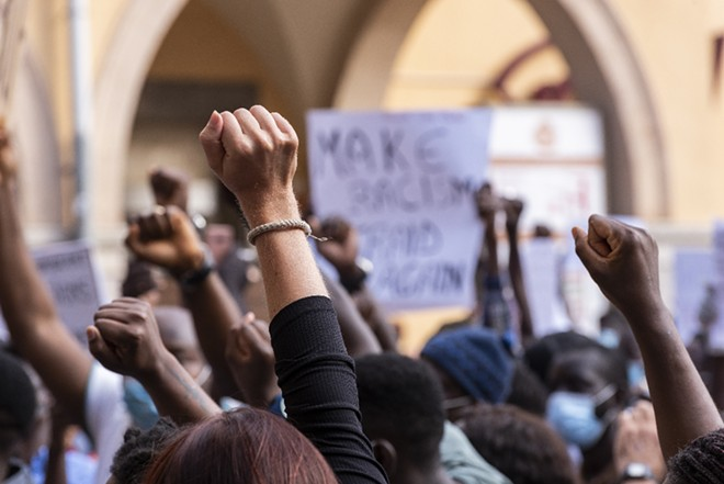 Florida Gov. Ron DeSantis and Attorney General Ashley Moody are asking for one of the lawsuits against their recently passed anti-protest law to be thrown out. - ADOBE