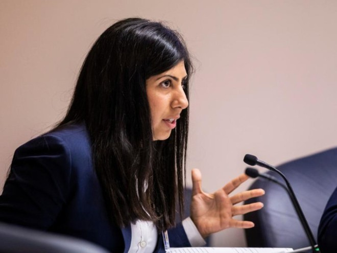 Rep. Anna Eskamani was among the advocates calling for the continuation of expanded federal benefits. - PHOTO VIA NSF