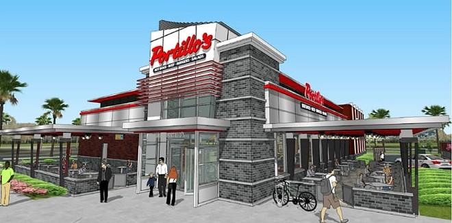 Orlando's first Portillo's opens on June 15. - COURTESY OF PORTILLO'S