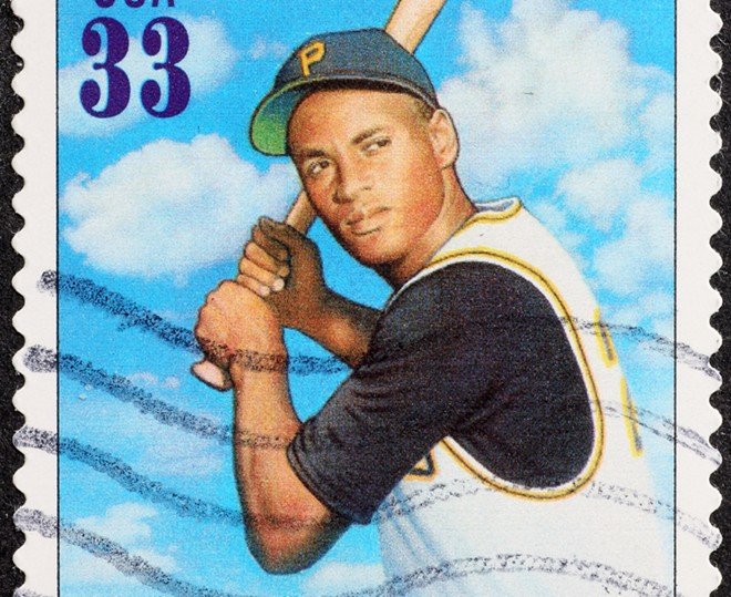 A road in Englewood Park was renamed in honor of Roberto Clemente. - ADOBE