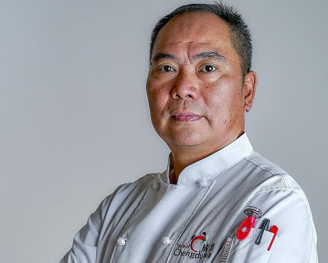 Chef Tiger Tang - PHOTO BY TERRENCE GROSS