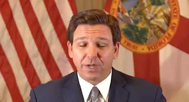 Florida Gov. Ron DeSantis' recent vetoes of unanimously supported bills ranged from cruel to confusing. - PHOTO COURTESY GOV. RON DESANTIS/TWITTER