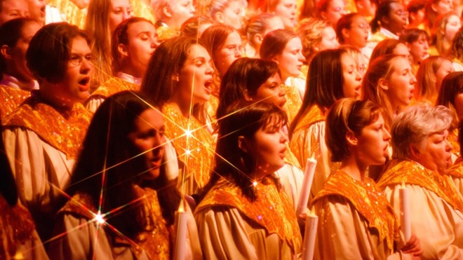 A recent announcement of holiday events at Walt Disney World did not include the Candlelight Processional. - PHOTO VIA WALT DISNEY WORLD