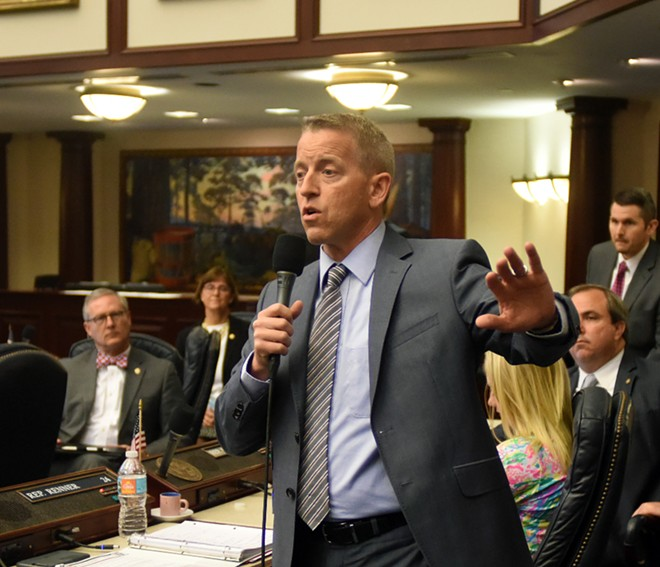 Rep. Paul Renner, the next Speaker of the House in Florida, said that changes in building codes aren't an immediate concern. - PHOTO VIA FL HOUSE