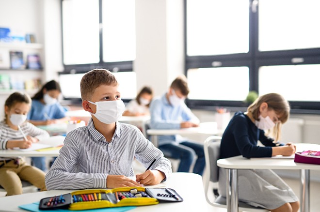 Orange County Public Schools made masking entirely optional for the upcoming school year. - ADOBE