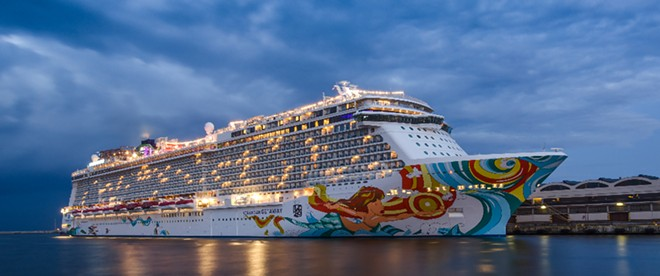 Norwegian Cruise Line have filed a lawsuit against the state of Florida for banning private businesses from asking for vaccination status. - ADOBE
