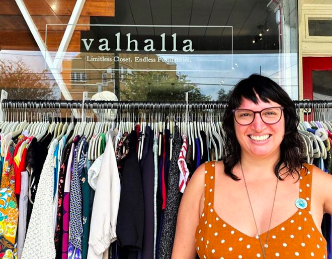 Danielle Ferrari of Tampa says she's had no trouble finding workers at $15 an hour. - PHOTO VIA VALHALLA/INSTAGRAM