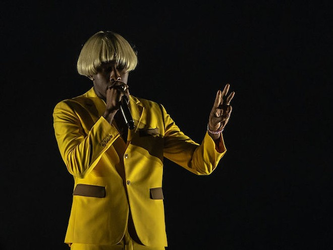 Tyler, the Creator at the Addition Financial Arenar in 2019 - PHOTO BY GABRIEL PALMER FOR ORLANDO WEEKLY