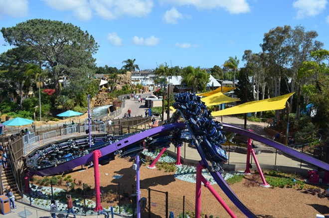 Tidal Twister at SeaWorld San Diego, a first-generation Horizon II concept by Skyline Attractions. - IMAGE VIA SKYLINEATTRACTIONS.COM
