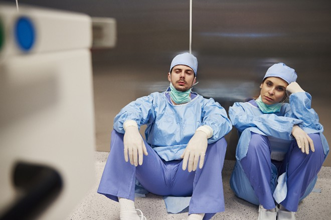101 Florida hospitals could be critically low on staff by the end of the week. - ADOBE