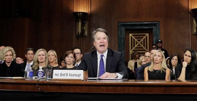 SHOCKER: Brett Kavanaugh chose not to protect or respect women's bodily autonomy. - SCREENGRAB VIA C-SPAN