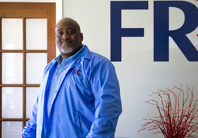 Desmond Meade, president of theFlorida Rights Restoration Coalition - PHOTO BY ROB BARTLETT