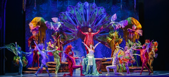The cast of Disney's The Little Mermaid, at the Dr. Phillips Center through March 12. - PHOTO BY MARK & TRACY PHOTOGRAPHY