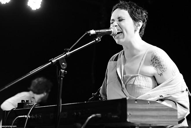 Allison Crutchfield and the Fizz at Will's Pub - JEN CRAY