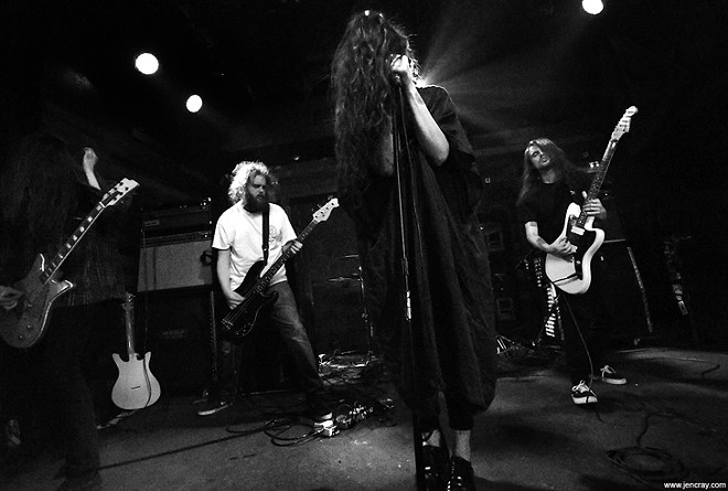 Oathbreaker at Backbooth - JEN CRAY