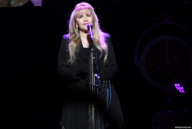Stevie Nicks at Amway Center - JEN CRAY