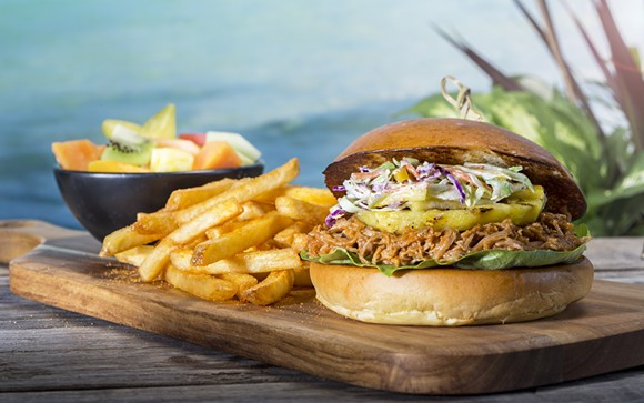 Pulled pork sandwich. - PHOTO VIA UNIVERSAL ORLANDO