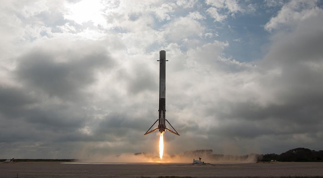 PHOTO BY SPACEX/INSTAGRAM