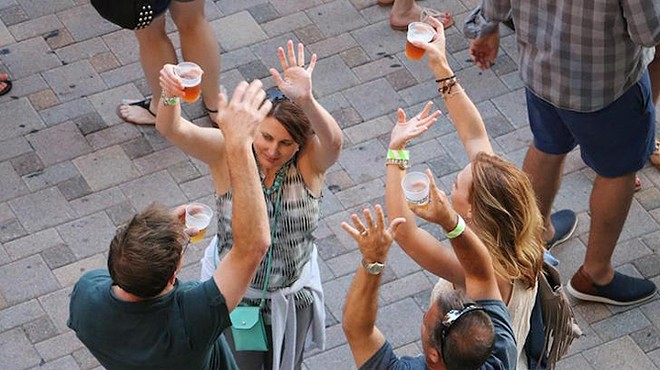 """""""Raise your hand if you like getting drunk in public."""""""