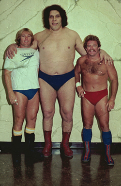 Andre the Giant - PHOTO BY PETER LEDERBERG