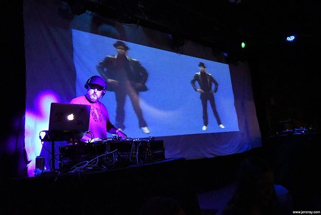 DJ BMF at the Social - JEN CRAY