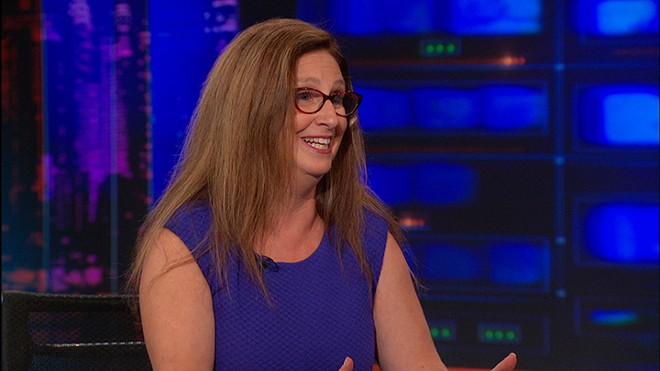 Dahlia Lithwick on The Daily Show With Jon Stewart in 2014