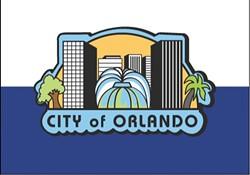 The current Orlando flag - PHOTO VIA CITY OF ORLANDO