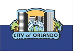 The current Orlando flag - PHOTO VIA CITY OF ORLANDO