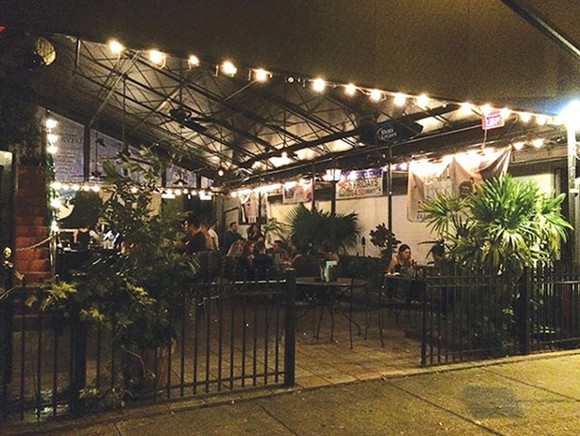 The Hammered Lamb's patio. - JESSICA BRYCE YOUNG