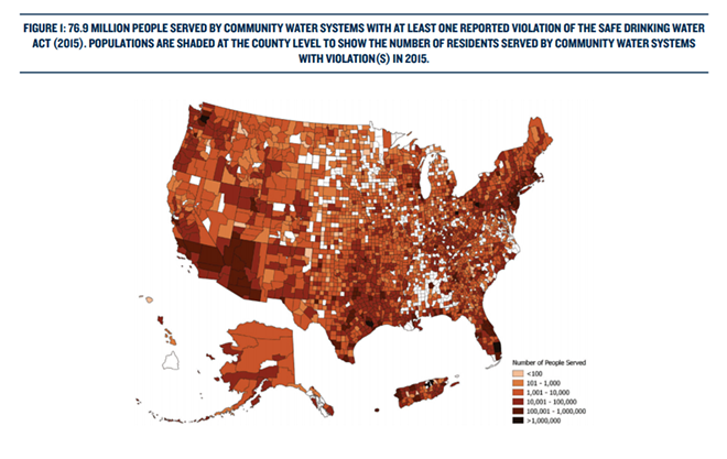 """PHOTO VIA """"THREATS ON TAP"""" A REPORT BY NRDC"""
