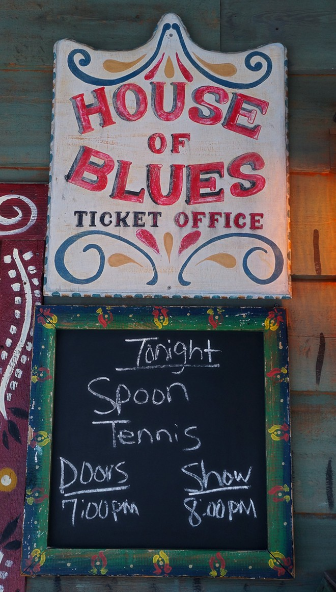 Spoon and Tennis at House of Blues - JIM LEATHERMAN