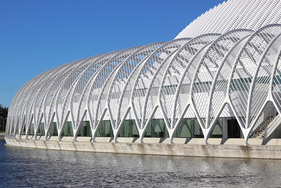 Santiago Calatrava's Florida Polytechnic University - PHOTO BY LINDSEY THOMPSON