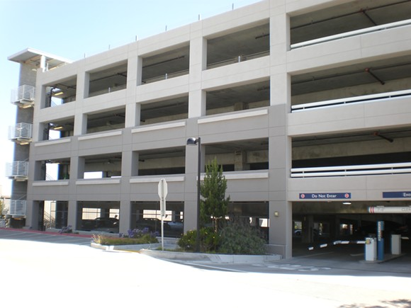 A Parking Garage - VIA WIKIMEDIA