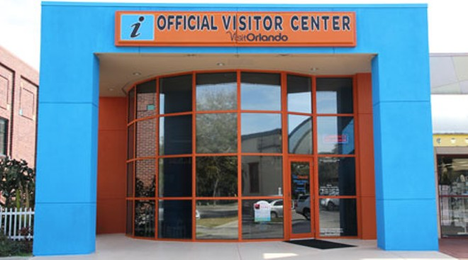 The current Visit Orlando Official Visitors Center. Located at 8723 International Drive, Orlando, FL - IMAGE VIA VISIT ORLANDO