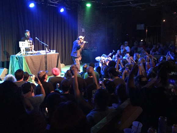 Del the Funky Homosapien at the Social