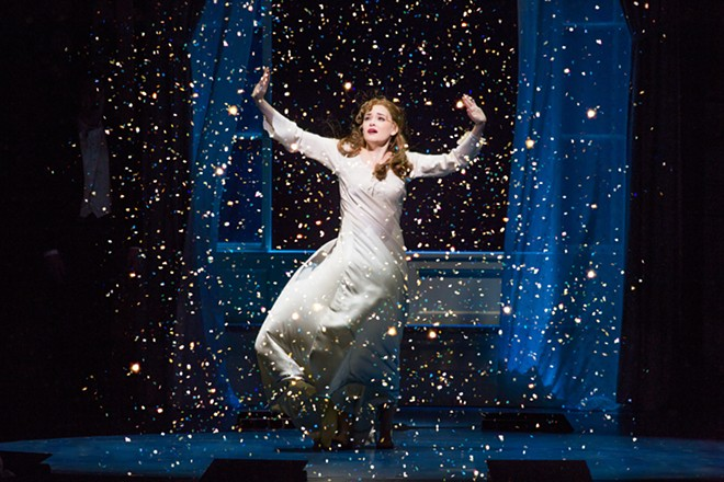 Christine Dwyer as Sylvia Llewelyn Davies in Finding Neverland - JEREMY DANIEL VIA DPCFTPA