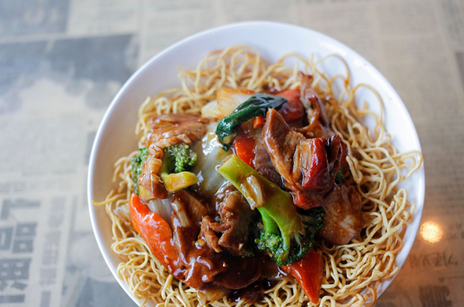 Crispy Cantonese Noodles - PHOTO COURTESY HAWKERS ASIAN STREET FARE