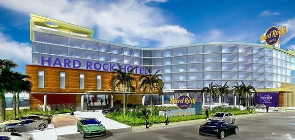 Hard Rock Hotel Daytona Beach concept art - PHOTO VIA HARD ROCK INTERNATIONAL