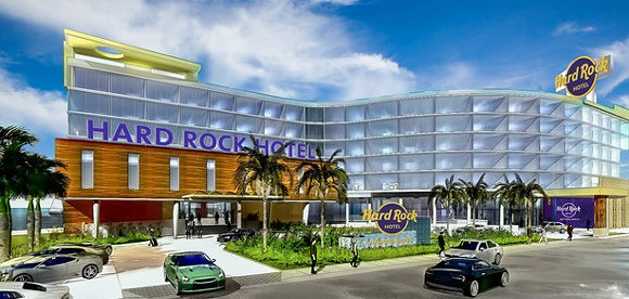 Hard Rock Hotel Daytona Beach concept art - PHOTO VIA HARD ROCK INTERNATIONAL