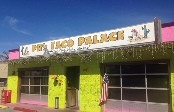 PHOTO VIA PR'S TACO PALACE/FACEBOOK