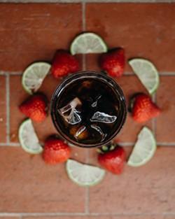 Strawberry-limeade cold brew - PHOTO VIA DOWNTOWN CREDO/FACEBOOK